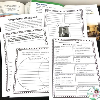 Theodore Roosevelt Activities and Assessment