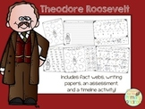 Theodore Roosevelt Activity Pack (fact webs/writing papers/timeline activity)