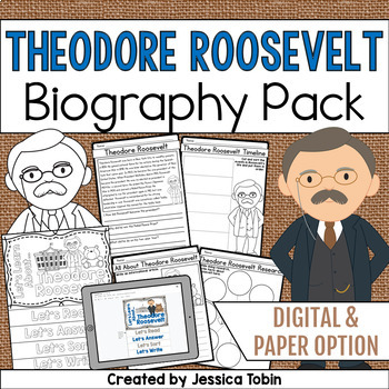 Theodore Roosevelt Biography Pack