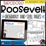 Theodore Roosevelt: Biography, Timeline, Graphic Organizers, Text-based Question
