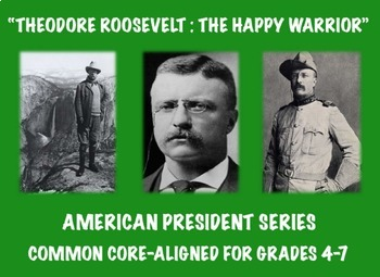Theodore Roosevelt: Common Core-Aligned Biography and Assessment