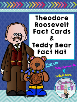 Theodore Roosevelt Fact Cards and Fact Hat