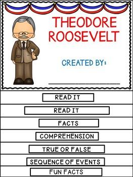 Theodore Roosevelt Flip Book