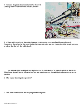Theodore Roosevelt Interview Review Activity