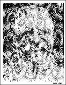 Teddy Roosevelt Pictorial Maze