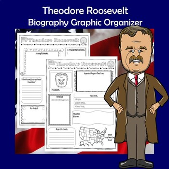Theodore Roosevelt President Biography Research Graphic Organizer