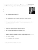 Theodore Roosevelt, Progressivism, and Mass Culture Social Studies Test