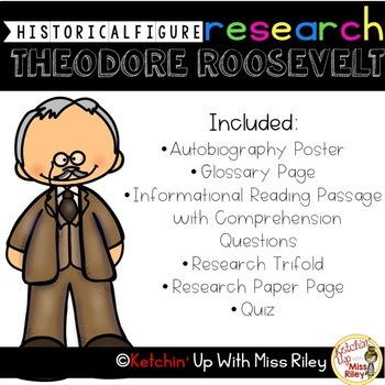 Theodore Roosevelt Research Packet