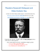 Theodore Roosevelt- Webquest and Video Analysis with Key