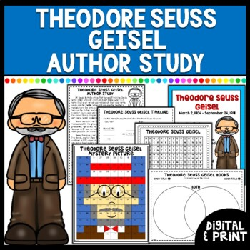Theodore Seuss Geisel Author Study