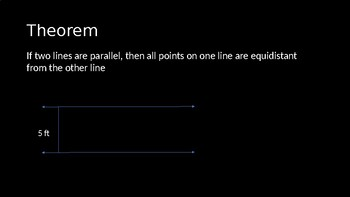 Theorems Involving Parallel Lines - PowerPoint Lesson (5.3)
