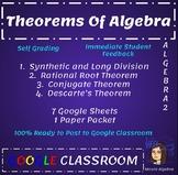 Theorems of Algebra Bundle  - Google - Rational Root, Descartes, Conjugate Root