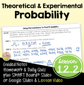 Theoretical and Experimental Probability