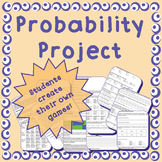 Theoretical & Experimental Probability Project - middle/high school