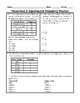 Theoretical & Experimental Probability Word Problem Practice PLUS Spiral Review