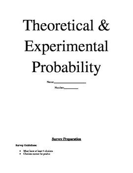 Theoretical & Experimental Probability/Creating & Anaylzing Graphs