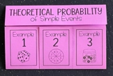 Theoretical Probability- Simple Events (Foldable)