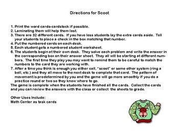 Theoretical Probability-Middle School-Scoot and Task Cards-Holiday Sweaters