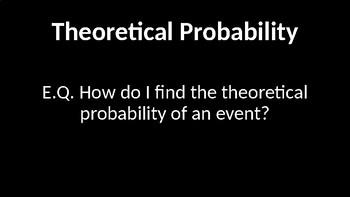 Theoretical Probability PowerPoint Presentation