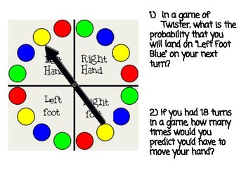 Theoretical Probability and Predictions Highlighter Activity