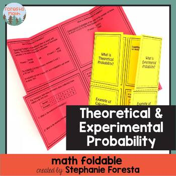 Theoretical and Experimental Probability Foldable