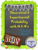 Theoretical and Experimental Probability M&M activity