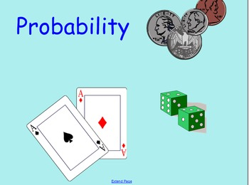 Theoretical and Experimental Probability Smart Notebook Presentation