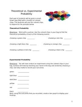 Theoretical vs. Experimental Probability