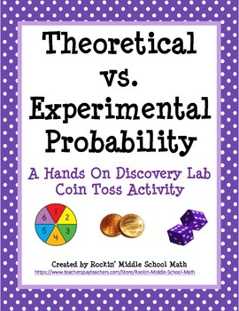 Theoretical vs Experimental Probability Lab (includes making predictions)