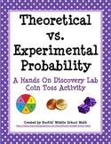 Theoretical vs Experimental Probability Lab (includes maki