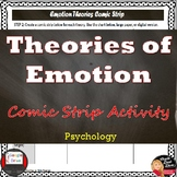Theories of EMOTION Comic Strip Activity | Print and Digit
