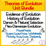 Theories of Evolution: 13 Day NO PREP Unit Bundle