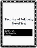 Theories of Relativity Novel Unit Test