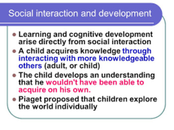 Theories of Social Interaction Patterns