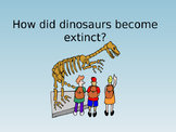 Theories of how dinosaurs became extinct