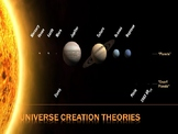 Theories of the Universe and The Planets