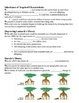 Theories on Origin and Change - Evolution Notes Outline Lesson Plan