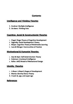 Theories to Structure Learning