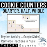 Theory Experts: Cookie Counters (Quarter, Half, Whole) Dig