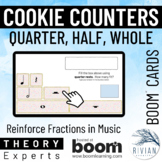 Theory Experts: Cookie Counters (Quarter, Half, Whole Note