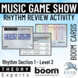 Theory Experts: Music Theory Game Show Activity - Rhythm L