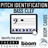 Theory Masters: Bass Clef Pitches - Boom Cards™