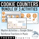 Theory Masters: Cookie Counters BUNDLE Drag & Drop Rhythm