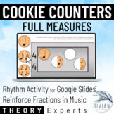 Theory Masters: Cookie Counters (Full Measures) Drag & Dro