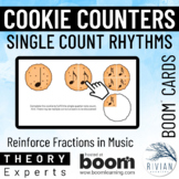 Theory Masters: Cookie Counters (Single Count) Boom Cards™