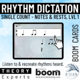 Theory Masters: Counting Rhythm (Dictation) Level 1 Single
