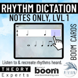 Theory Masters: Counting Rhythm (Note Dictation) Level 1 -