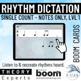 Theory Masters: Counting Rhythm Dictation Level 1, Single