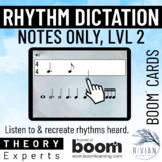 Theory Masters: Counting Rhythm (Note Dictation) Level 2 -