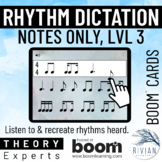 Theory Masters: Counting Rhythm (Note Dictation) Level 3 -